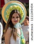 funchal  madeira  portugal  ... | Shutterstock . vector #1111345454
