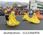funchal  madeira  portugal  ... | Shutterstock . vector #1111346954