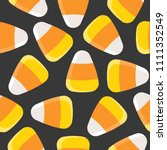Candy Corn Seamless Pattern For ...