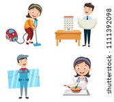 vector illustration of... | Shutterstock .eps vector #1111392098