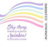 pastel rainbow background ... | Shutterstock .eps vector #1111400840