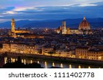 view of the basilica di santa... | Shutterstock . vector #1111402778