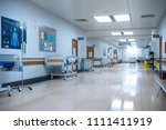 hallway the emergency room and...   Shutterstock . vector #1111411919
