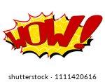 comic text speech. icon... | Shutterstock . vector #1111420616