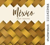 traditional colorful mexican... | Shutterstock .eps vector #1111423466