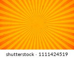 bright orange and yellow rays... | Shutterstock .eps vector #1111424519