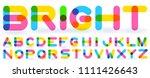 vector abstract transparent... | Shutterstock .eps vector #1111426643