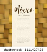 traditional colorful mexican... | Shutterstock .eps vector #1111427426