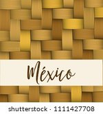 traditional colorful mexican... | Shutterstock .eps vector #1111427708