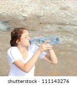Thirsty Redhead Woman On Dead...