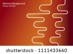 abstract vector background with ... | Shutterstock .eps vector #1111433660