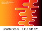 abstract vector background with ... | Shutterstock .eps vector #1111435424