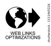 link optimization icon. element ...   Shutterstock .eps vector #1111465226