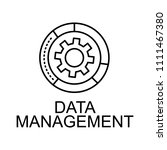 date management line icon....