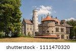 german lichtenstein castle view ... | Shutterstock . vector #1111470320