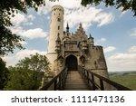 front view of german... | Shutterstock . vector #1111471136