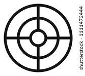 futuristic aim scope icon....