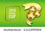 football 2018 world... | Shutterstock .eps vector #1111499504