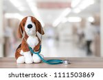 pediatric doctor for children... | Shutterstock . vector #1111503869
