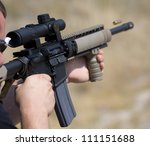 Shooter Who Has Just Taken A...