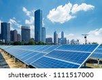 shanghai urban landscape ... | Shutterstock . vector #1111517000