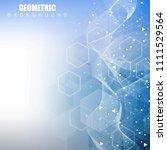 modern futuristic background of ...   Shutterstock .eps vector #1111529564