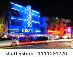 miami beach  florida   june 12  ... | Shutterstock . vector #1111534220