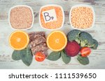 nutritious products containing... | Shutterstock . vector #1111539650