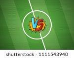 soccer championship versus... | Shutterstock .eps vector #1111543940