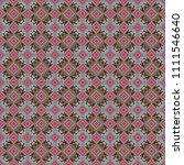 vector seamless rhombus and... | Shutterstock .eps vector #1111546640
