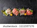 Japanese foods sashimi  raw...