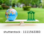 balance of trade   commercial... | Shutterstock . vector #1111563383