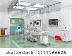 3d render   modern operating... | Shutterstock . vector #1111566626