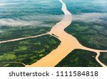 landscape aerial view of... | Shutterstock . vector #1111584818