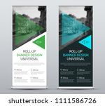 vector design of roll up... | Shutterstock .eps vector #1111586726