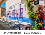 alacati   may 31   colorful...   Shutterstock . vector #1111600310