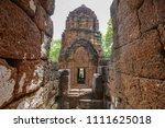 muang sing historical park ... | Shutterstock . vector #1111625018