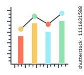 graph vector icon   Shutterstock .eps vector #1111631588