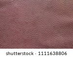old brown leather texture... | Shutterstock . vector #1111638806