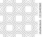 light gray geometric print.... | Shutterstock .eps vector #1111640360