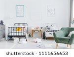 bright scandinavian style...   Shutterstock . vector #1111656653
