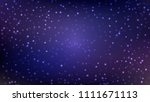 abstract blue violet background ... | Shutterstock .eps vector #1111671113