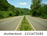 road to shillong  india | Shutterstock . vector #1111673183