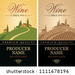 vector set of labels for red... | Shutterstock .eps vector #1111678196