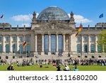 berlin  germany   apr 28  2018  ... | Shutterstock . vector #1111680200