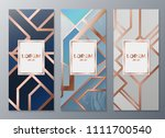 design templates for flyers ... | Shutterstock .eps vector #1111700540