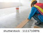 home renovate with vinyl...   Shutterstock . vector #1111710896