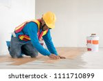 home renovate with vinyl... | Shutterstock . vector #1111710899