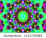 creative decorative background. ... | Shutterstock . vector #1111719383
