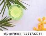 natural herbal soothing gel... | Shutterstock . vector #1111722764